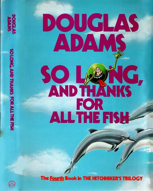 Douglas Adams had it right