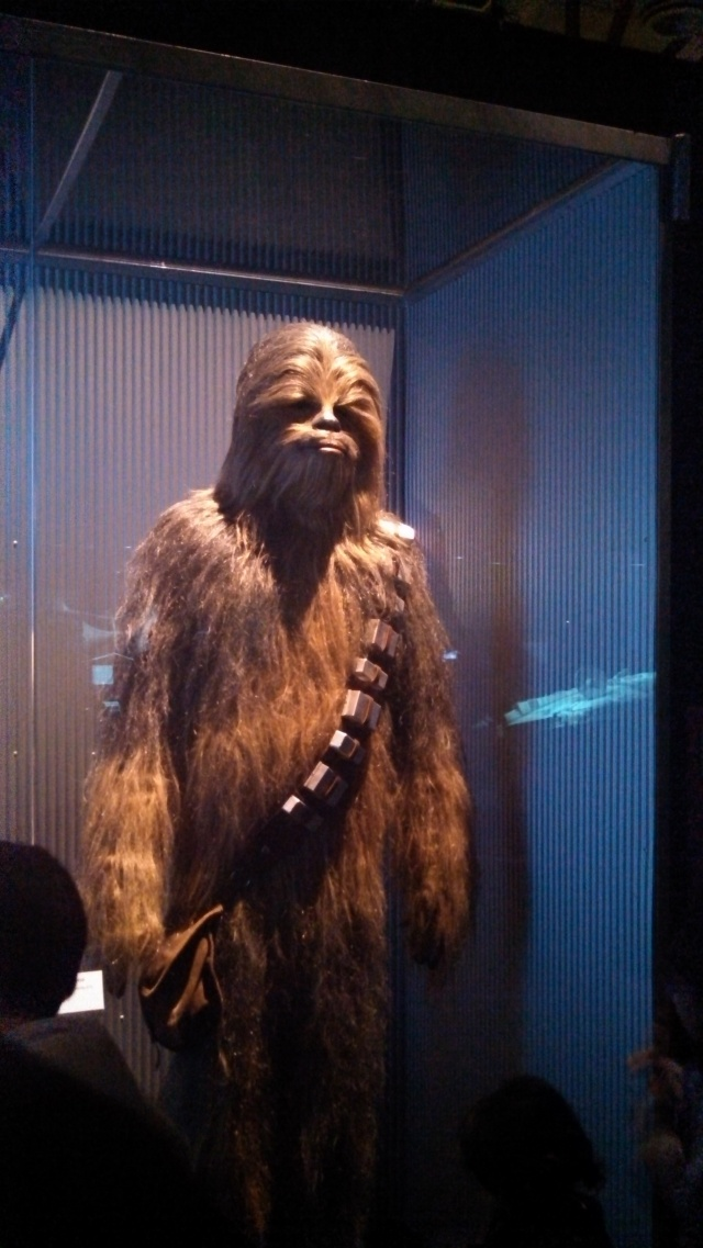 If you're a fan of Chewbacca, you only have until Jan 20 to see the original costume from Episode IV.  After that, the federal government is taking it for reasons of national security.