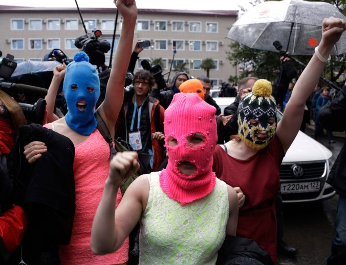 It's Pussy Riot. You have to end a story about Russian screw ups with Pussy Riot.